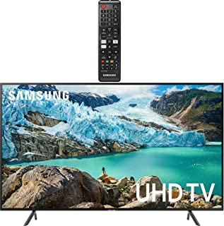 """Samsung Smart TV 58"""" inch 4K UHD Flat Screen TV (UN58RU7100FXZA) with HDR, Google, Apple & Alexa Compatible + Remote with Netflix, Hulu & Prime Buttons for Samsung TV"""