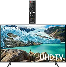 """$594 » Samsung Smart TV 58"""" inch 4K UHD Flat Screen TV (UN58RU7100FXZA) with HDR, Google, Apple & Alexa Compatible + Remote with Netflix, Hulu & Prime Buttons for Samsung TV"""