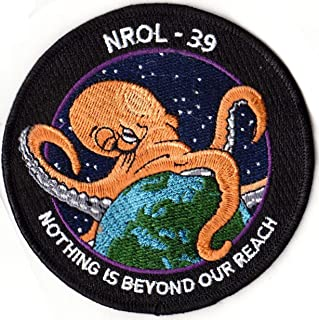 NROL 39 Embroidered Patch