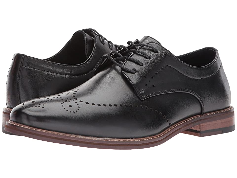 Stacy Adams Alaire Wingtip Lace-up Oxford (Black) Men