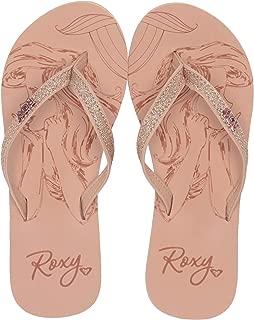 roxy glitter flip flops