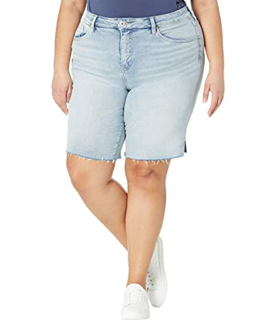 Jag Jeans Plus Size The City Shorts in High-Rise (East Hampton) Women