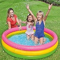 حوض سباحة ولعب في الهواء الطلق للاطفال من انتيكس بالوان زاهية [متعدد الالوان, 57422]