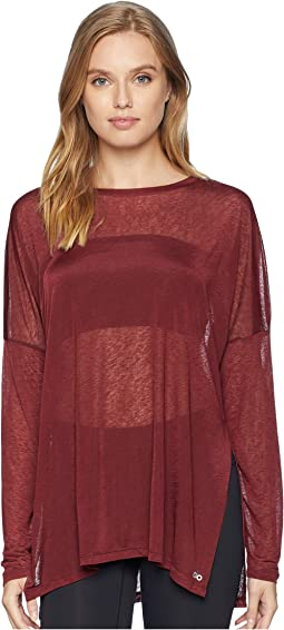 Arrow Oversized Long Sleeve Tee
