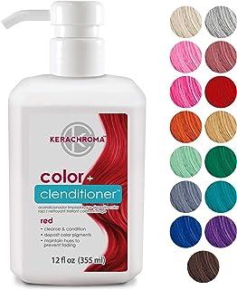 Keracolor Clenditioner Hair Dye (18 Colors) Depositing Color Conditioner Colorwash, Semi..