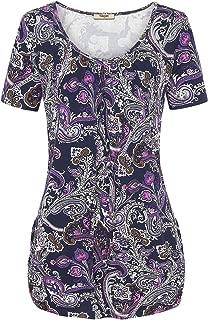 Women's Sleeveless V Neck Lace Patchwork Tunics
