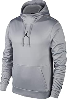f35dc29a Nike Mens Jordan 23 Alpha Therma Pull Over Hoodie Carbon Heather/Black  861559-091