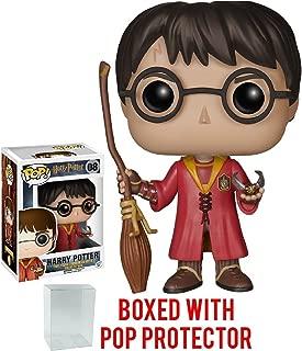Harry Potter - Quidditch Harry Potter #08 Funko Pop! Vinyl Figure (Includes Compatible Pop Box Protector Case)