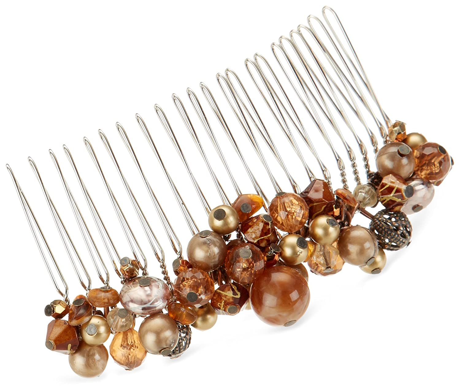 Revlon free Metal Comb with Beads Los Angeles Mall