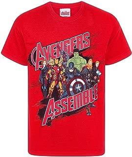 Official Boys Avengers Assemble T-Shirt