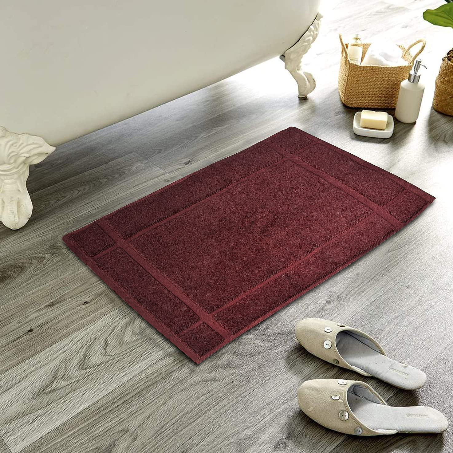 Ample Decor Bath Mats Minneapolis Mall for Thick and Max 61% OFF Floor Bathroom Indoor