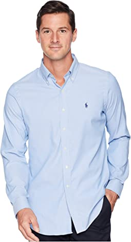 Performance Oxford Long Sleeve Classic Sport Shirt