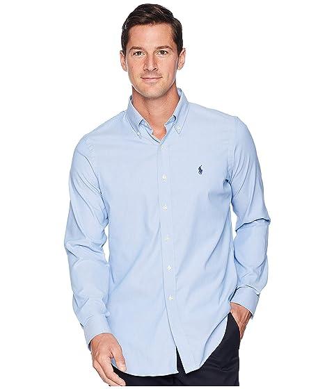 1840f714 Polo Ralph Lauren Performance Oxford Long Sleeve Classic Sport Shirt ...
