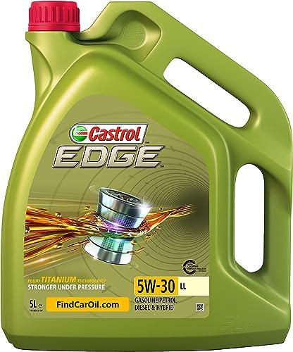 Castrol EDGE 5W-30 LL, Huile Moteur, 5L