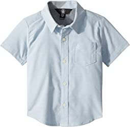 Volcom Kids Everett Oxford Short Sleeve Shirt (Toddler/Little Kids)