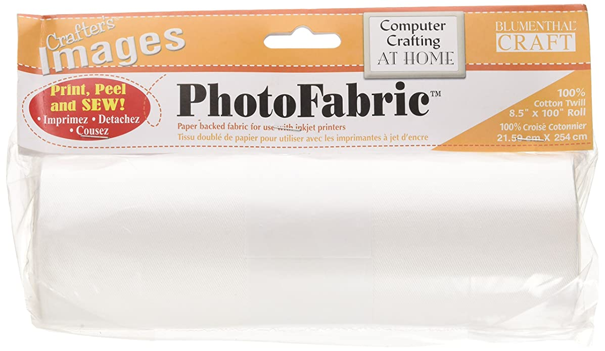 Blumenthal Lansing Crafter's Images 100-Percent Cotton Twill, 8-1/2-Inch by 100-Inch Roll Photo Fabric