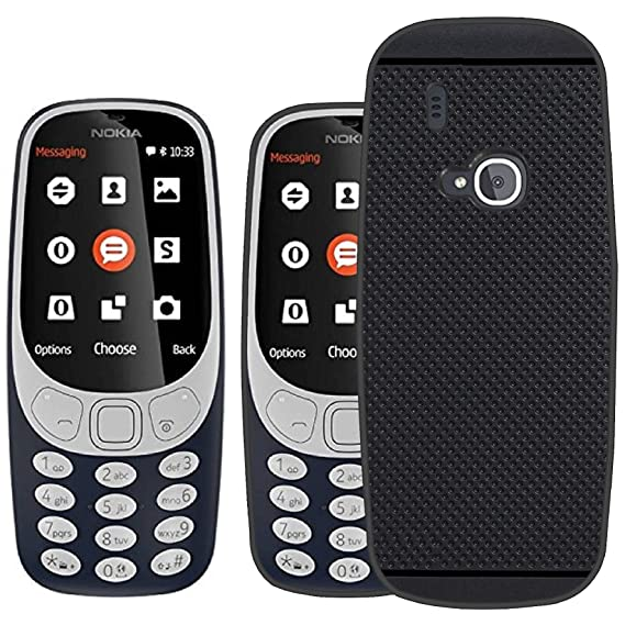 Nokia 3310 Dual SIM Feature Phone with MP3 Player, Wireless FM Radio and Rear Camera, Dark Blue