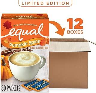 pumpkin spice equal