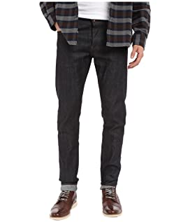 The Unbranded Brand Tapered in Black Selvedge Chino MSRP : $88.00 $70.40  Tight in 11 OZ Indigo Stretch Selvedge