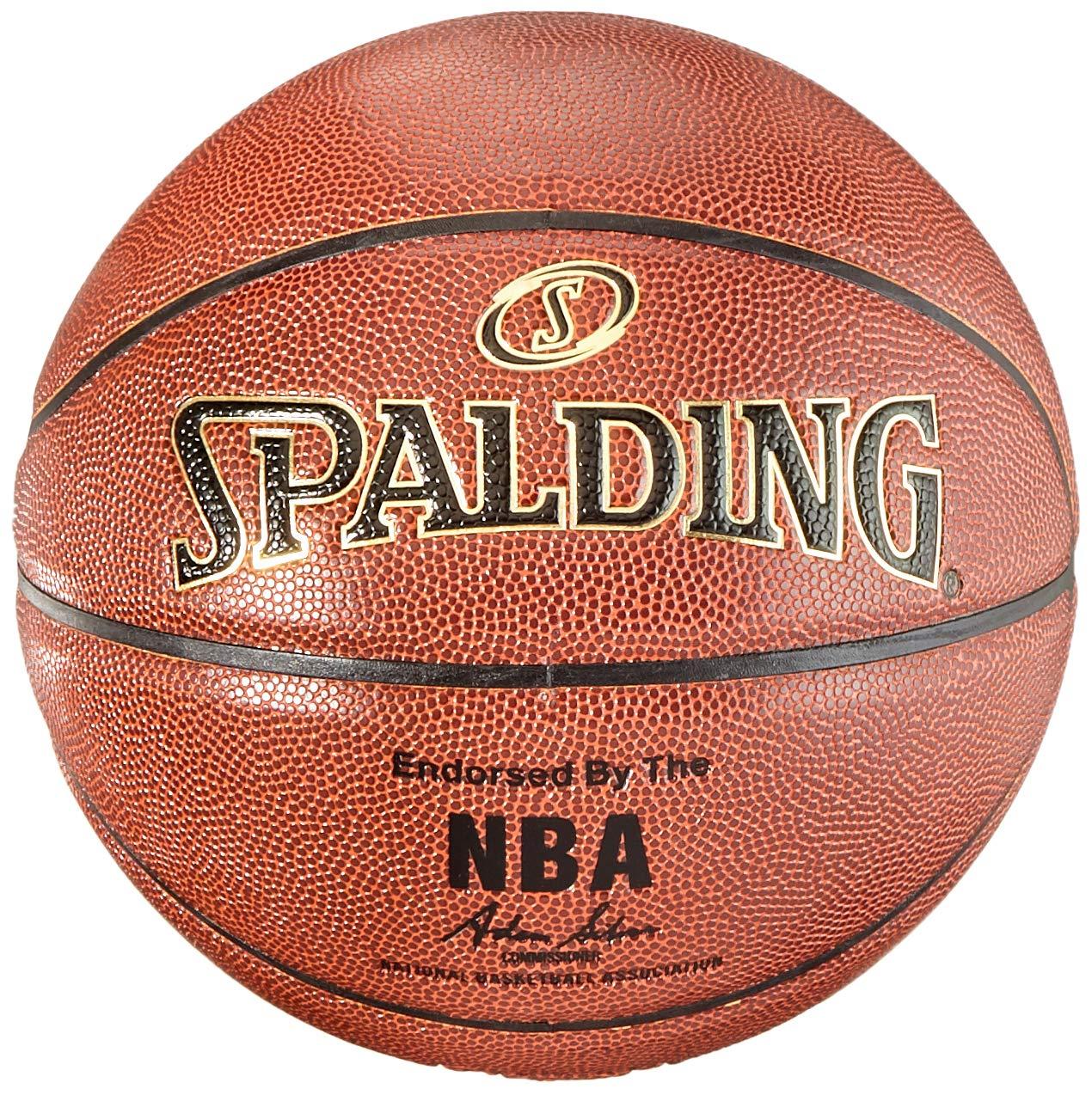 Spalding NBA Gold - Balón de Baloncesto para Interior y Exterior ...