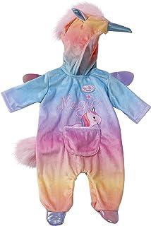 BABY born 828205 Eenhoorn Onesie voor Poppen van 43 cm - Ideaal voor Kinderhandjes, Bevordert Creativiteit, Empathie & Soc...