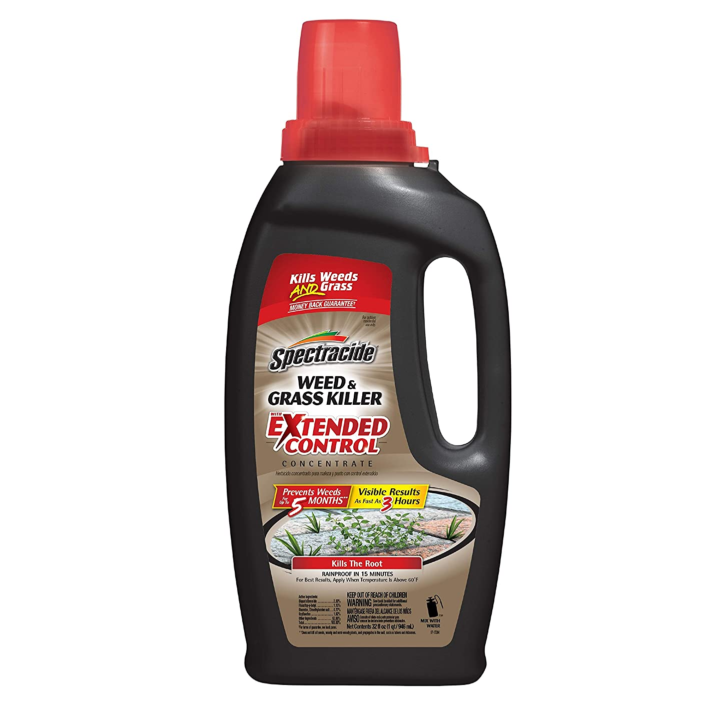 Spectracide Weed & Grass Killer with Extended Control Concentrate 32 oz., 1-PK