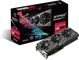 ASUS ROG-STRIX-RX580-T8G-GAMING Radeon RX 580 8GB GDDR5 - Tarjeta gráfica (AMD, Radeon RX 580, 7680 x 4320 Pixeles, 1411 MHz, 1431 MHz, 8 GB)