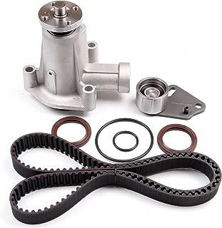 ECCPP Timing Belt Water Pump Kit Fits 1995-2001 Mazda Ford 2.3L 2.5L SOHC 8v VIN A Cu. 140