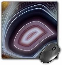 """3D Rose """"Botswana Banded Agate Quartzsite Az."""" Matte Finish Mouse Pad - 8 x 8"""" - mp_229645_1"""