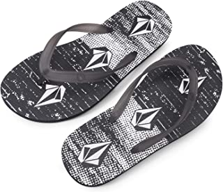 Volcom Men's Rocker 2 Graphic Print Flip Flop Sandal