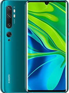 "Xiaomi Mi Note 10 Smartphone, 6 GB RAM + 128 GB ROM, Schermo 3D Curved Amoled 6.47"", Penta Camera 108 MP, Selfie camera da..."
