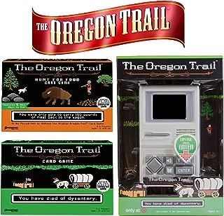 The Oregon Trail Original Board, Hunt for Food Games, Handheld Game - Ultimate Holiday Fan Gift