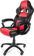 Arozzi - Monza sedia da Gaming, Nero Rosso, 50 x 55 x 130