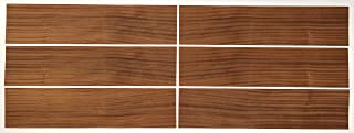 Sapele Wood Veneer Pack - No Backing - 7.5 SQ FT - 6