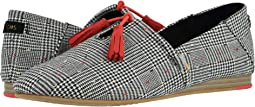 Black Glen Dot Plaid