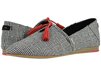 TOMS Kelli (Black Glen Dot Plaid) Women