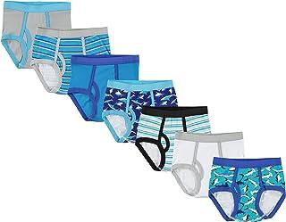 Handcraft Boys Ten28 Boys Cotton 7pk Brief and 6pk Boxer Brief Underwear - Multi