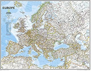 Europe Classic, Tubed: Wall Maps Continents