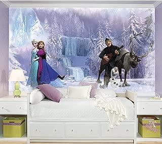 RoomMates Disney Frozen Chair Rail Removable Wall Mural - 10.5 feet X 6 feet