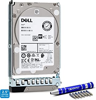 Dell 400-ATJR 1.8TB 10K SAS 12Gb/s 2.5-Inch Internal HDD in 14G Tray for EMC PowerEdge Bundle with Compatily Hard Drive Ca...