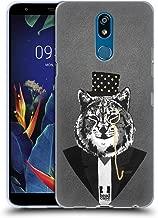 Head Case Designs Lynx Super Posh Soft Gel Case Compatible for LG K40 / K12 Plus