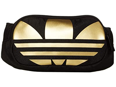 adidas SpaceTech Waist Pack (Black/Metallic Gold) Bags