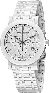 Women's BU1770 Ceramic White Chronograph Dial Watch