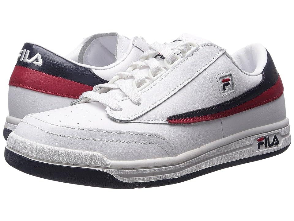 Fila Original Tennis (White/Fila Navy/Fila Red) Men