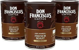 Don Francisco's French Roast— Dark Roast— Ground Coffee—100% Arabica—3 Cans (12 oz. each)