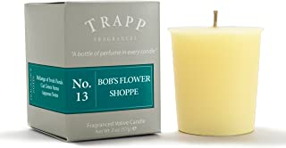 Trapp No. 13 Bob's Flower Shoppe Votive Candle, 2oz