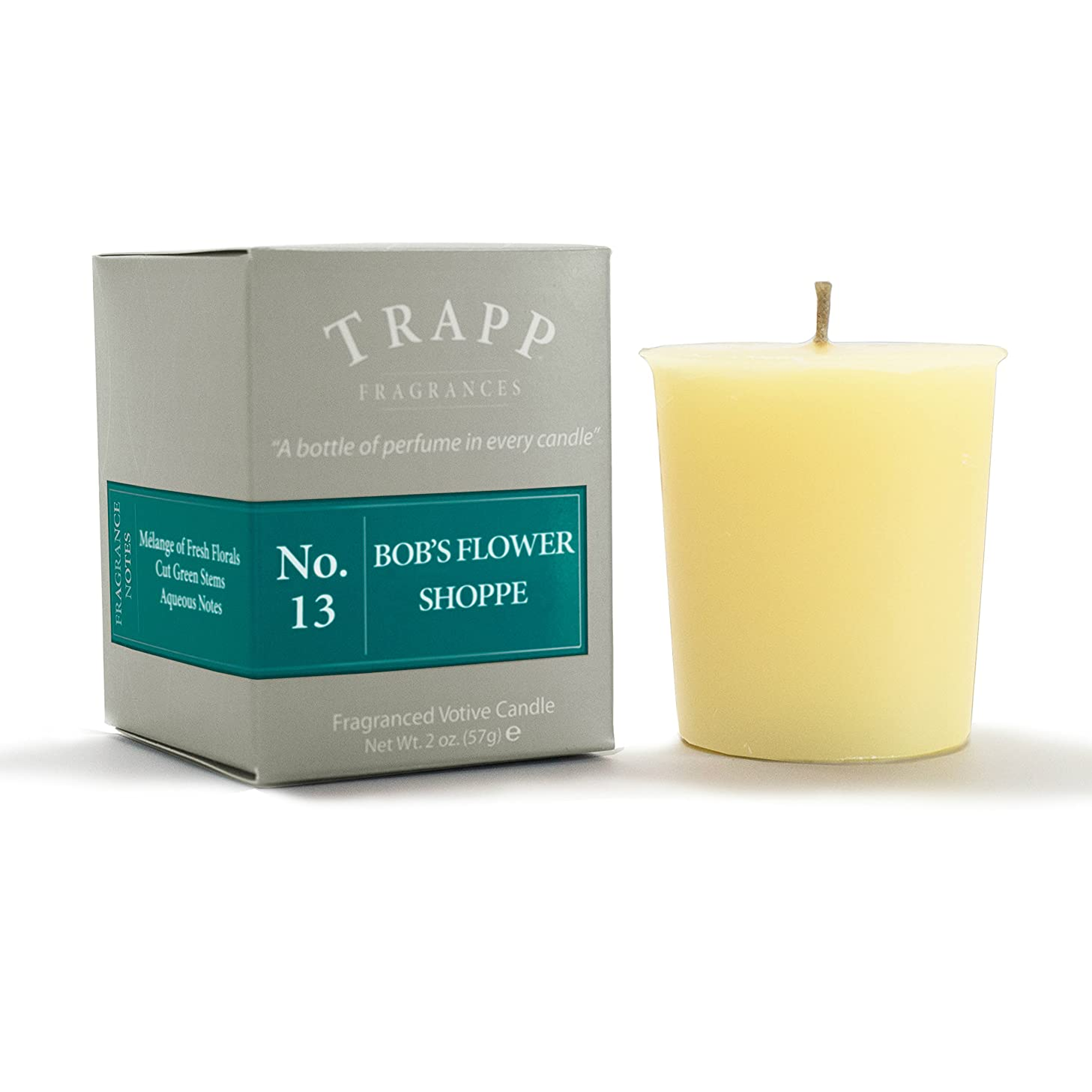 Trapp Signature Home Collection No. 13 Bob's Flower Shoppe 2 Ounce Votive - 2 Pack cbdzvecgk