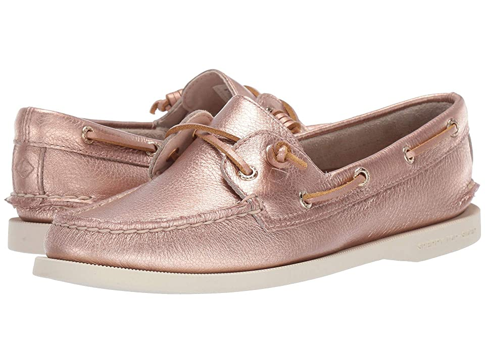 Sperry Authentic Original Vida Metallic (Rose Gold) Women