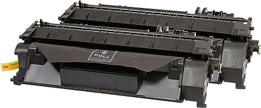 TONER EXPERTE® CE505A 2 Cartuchos de Tóner compatibles para HP Laserjet P2035 P2050 P2053 P2055 P2055d P2055dn P2055x P2056 P2057 Canon i-SENSYS LBP6300dn LBP6650dn LBP6680x MF6140dn (2300 páginas)