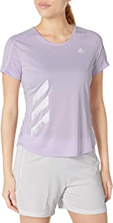 adidas Run It Tee Pb 3 Stripes Women